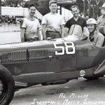 Al Miller, 1940 Indianapolis Motor Speedway, Alfa Romeo P3