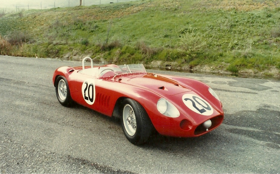 Maserati 300S nr. 3071 - Stephen Griswold