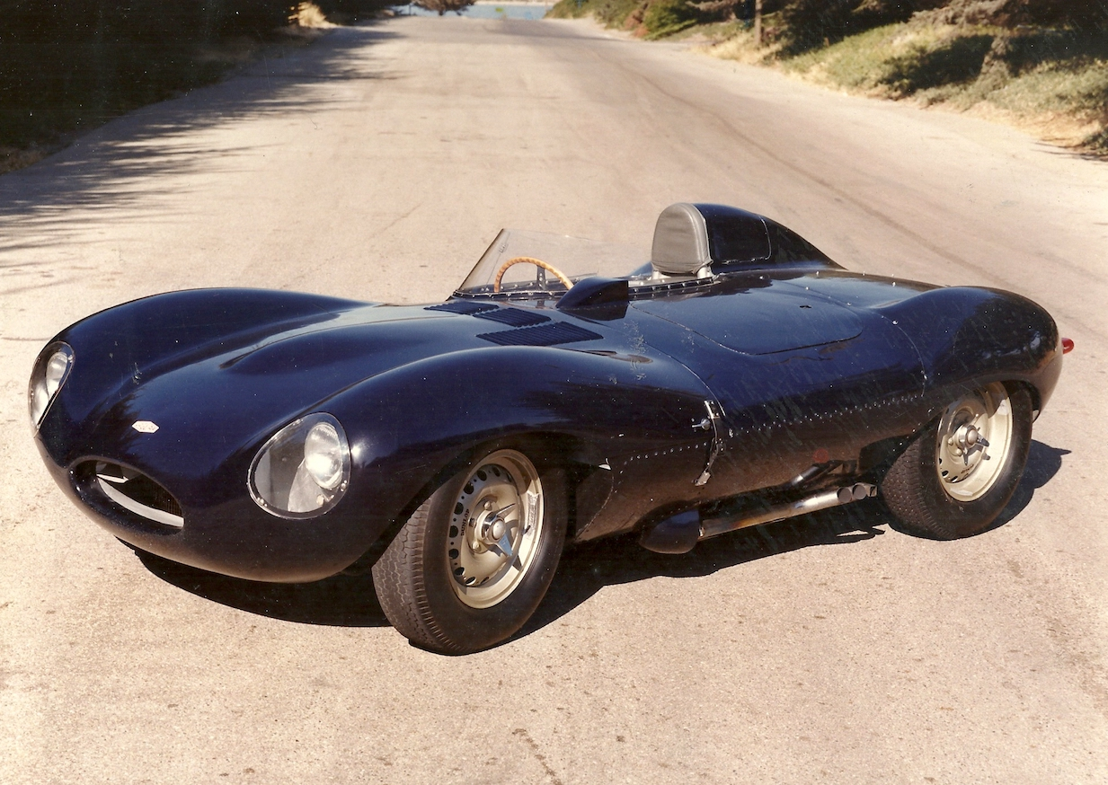 Jaguar D-Type - Stephen Griswold