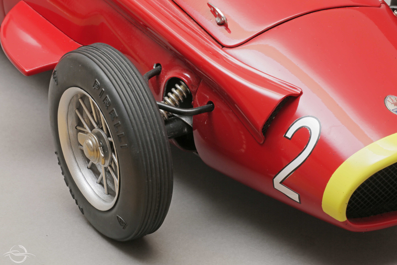 Maserati Mauro Bonaccini Rossa Dettaglio musetto