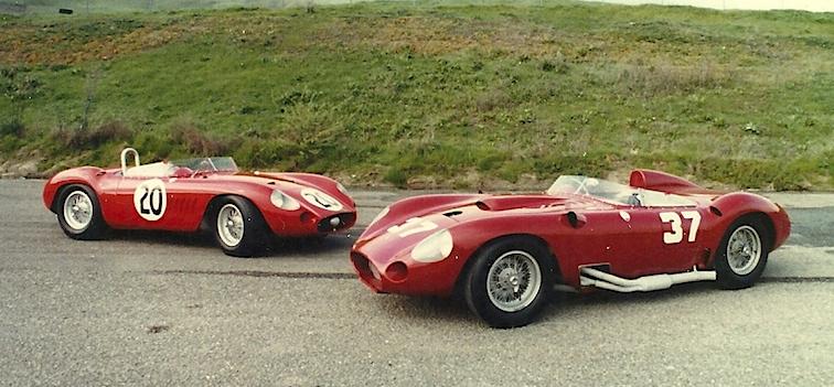 Maserati 300S e Maserati 450S - Stephen Griswold