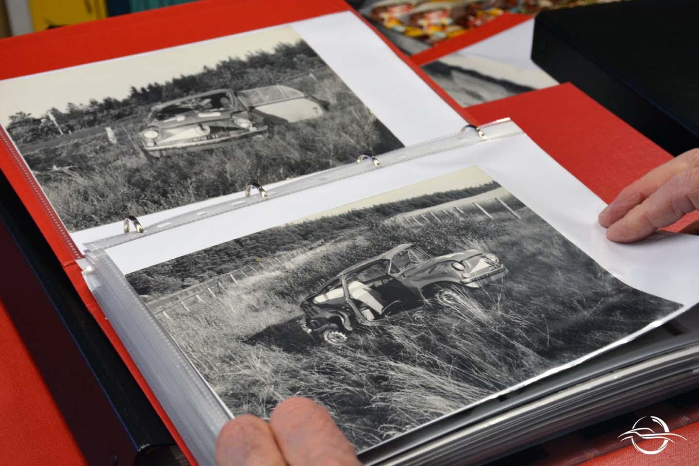 Foto in bianco e nero di Abarth 850