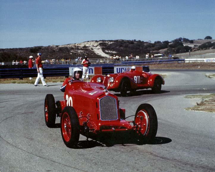 Alfa Romeo 8C2600 Monza - Stephen Griswold