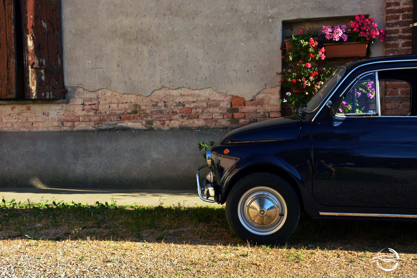 Fiat 500 Waiting For The Summer International Classic 1957 Sale Which Im Driving Now Is L Version Stands Lusso Or Luxurious It Blue With A Red Interior Its Fully Original And