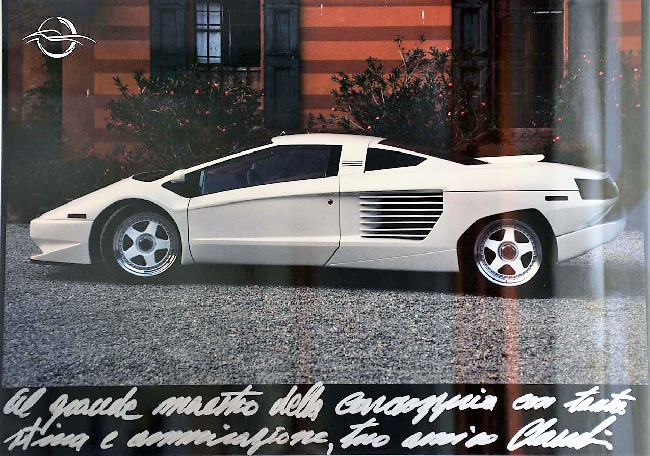Cizeta car photo made by Gian Carlo Guerra