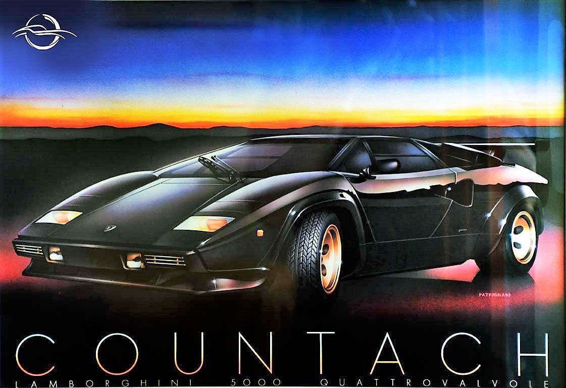 Countach car photo made by Gian Carlo Guerra