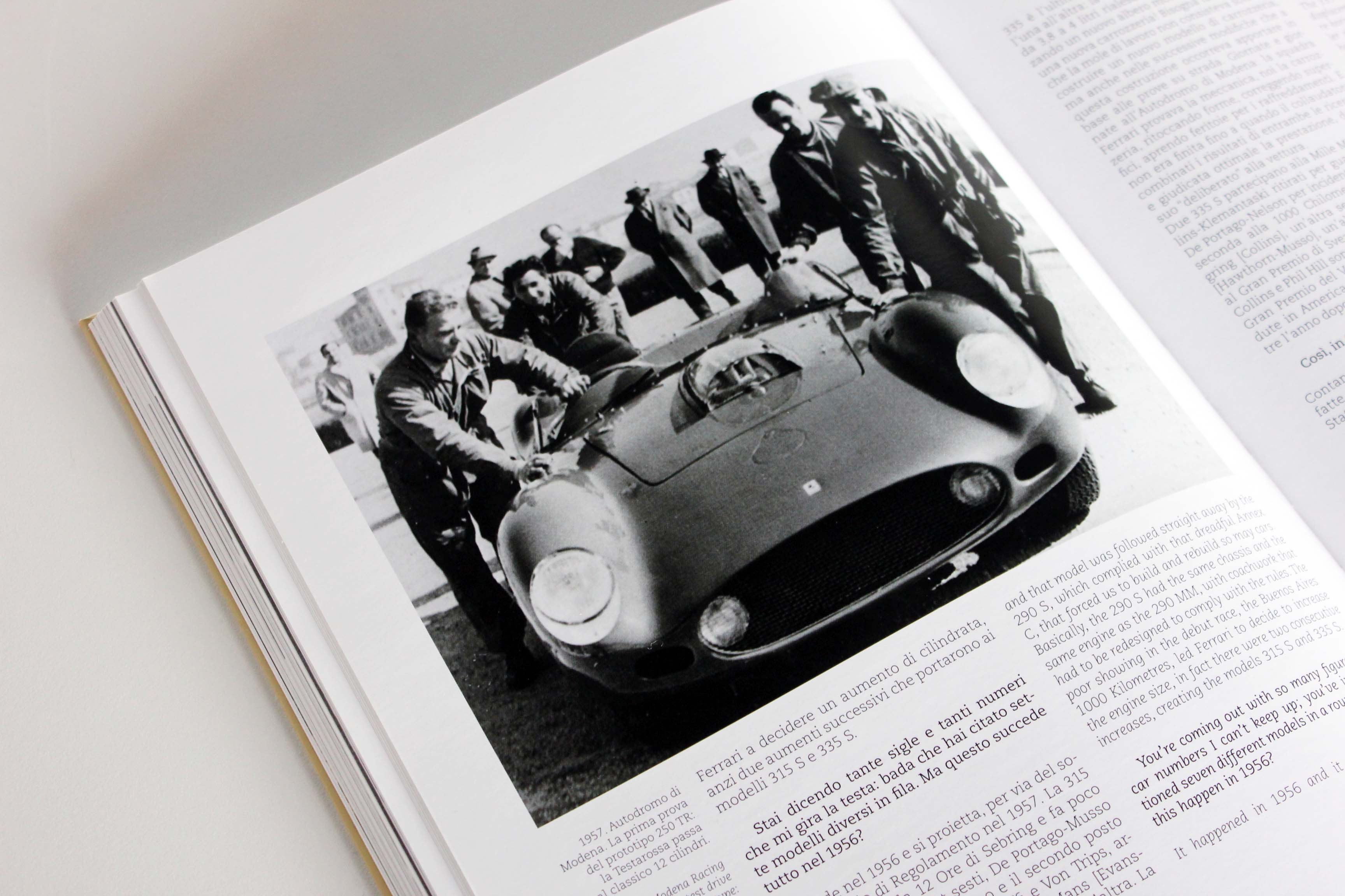 Ferrari 250 TR in Gian Carlo Guerra interview