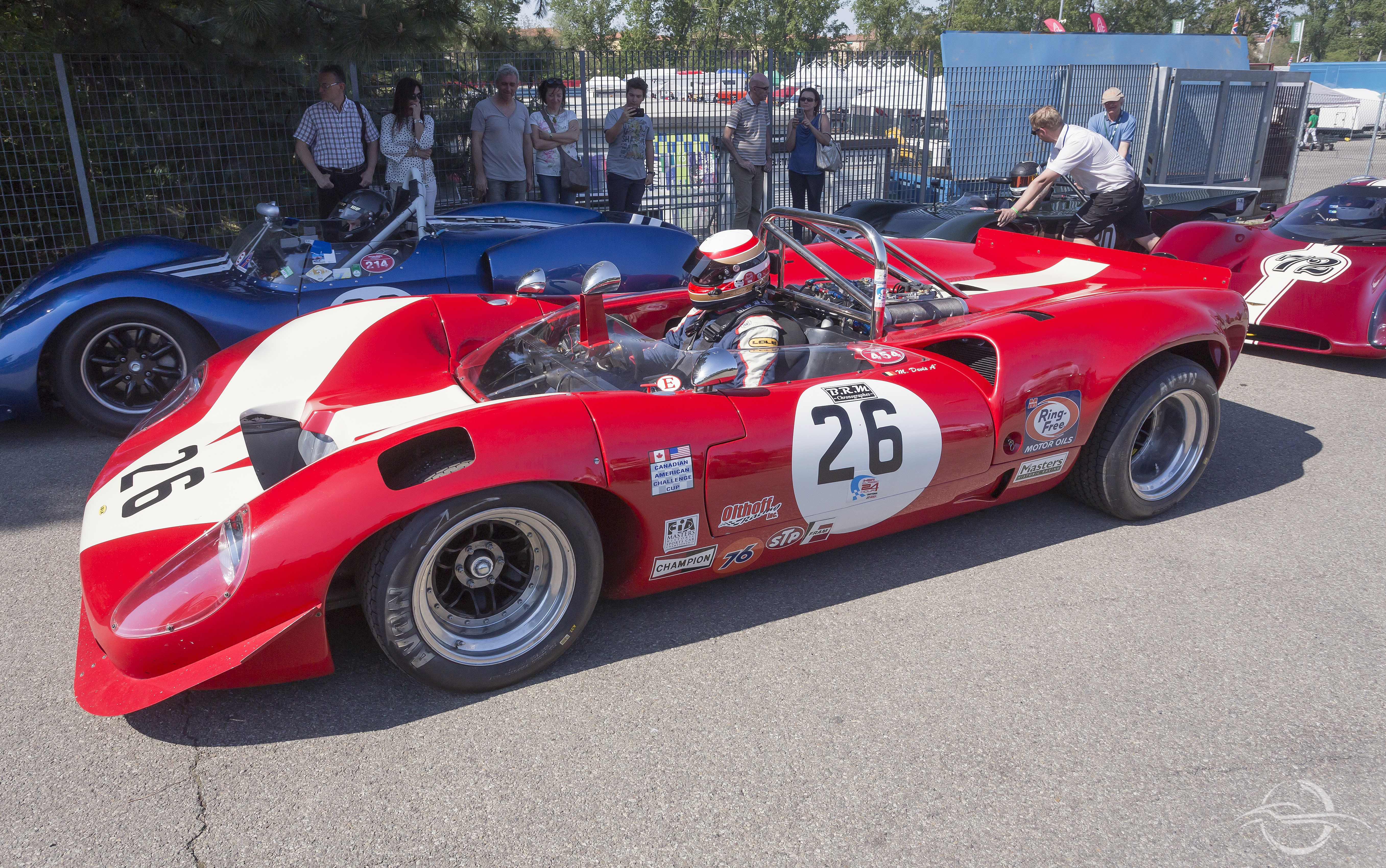 FIA Masters Historic Sport Cars - Lola T70 Mk3 Spyder