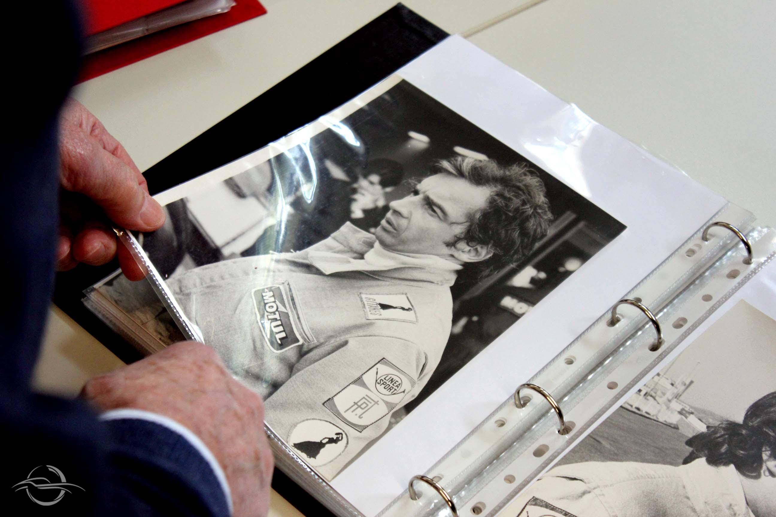 F1 driver Jean-Pierre Beltoise photo
