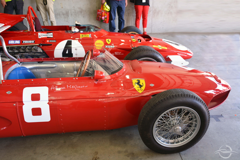 Ferrari Formula 1 squalo 1961 a Imola 2018