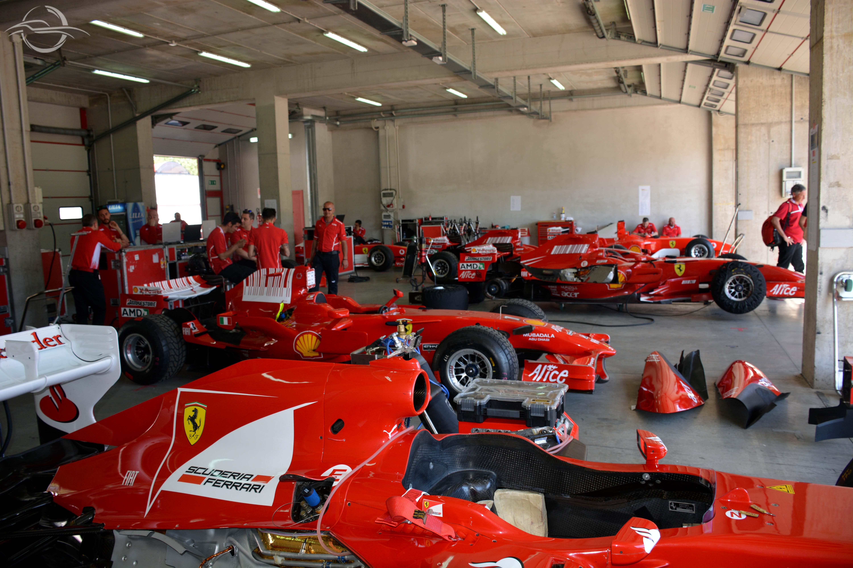team Ferrari a Imola 2018