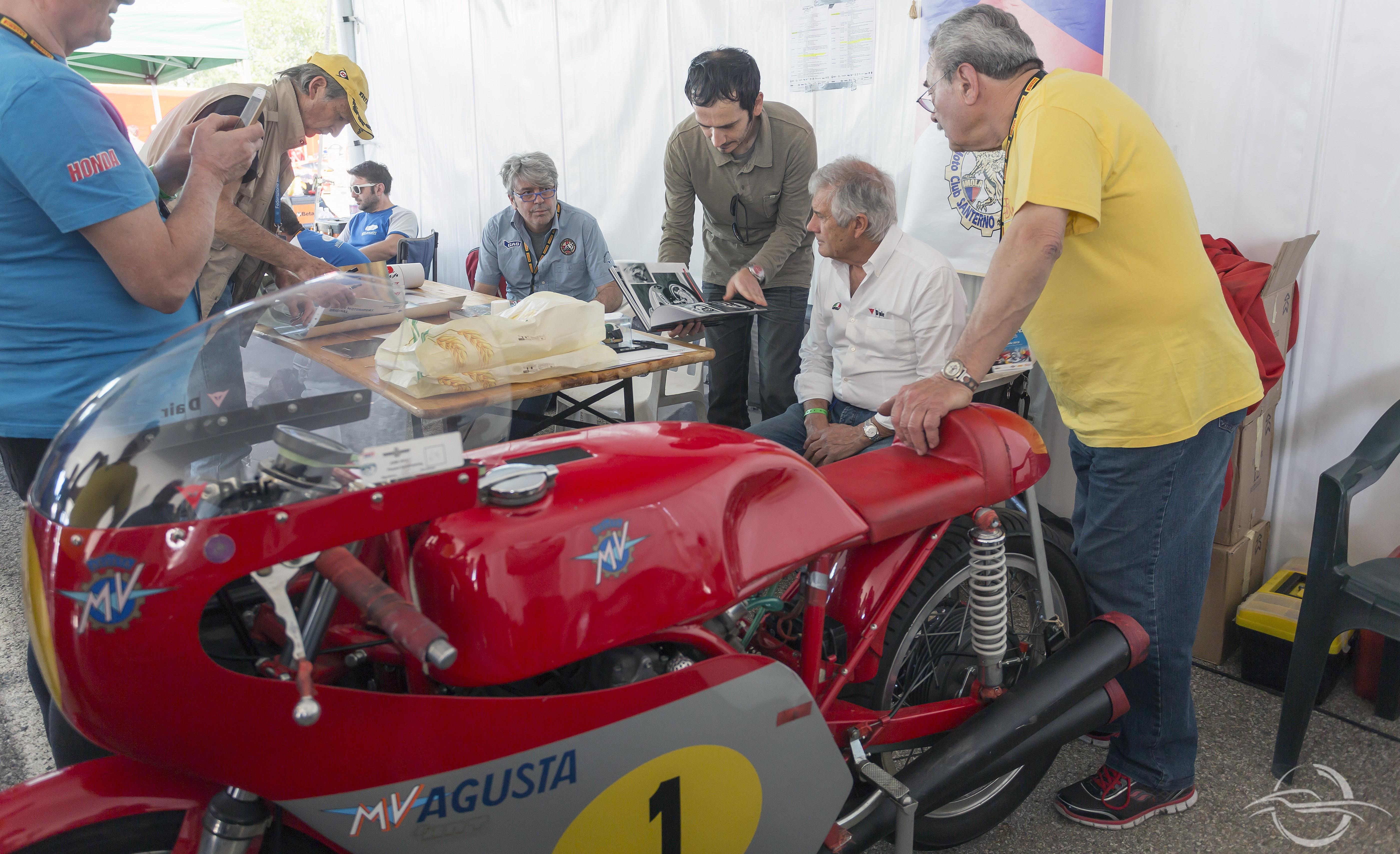 Giacom Agostini con la MV Agusta