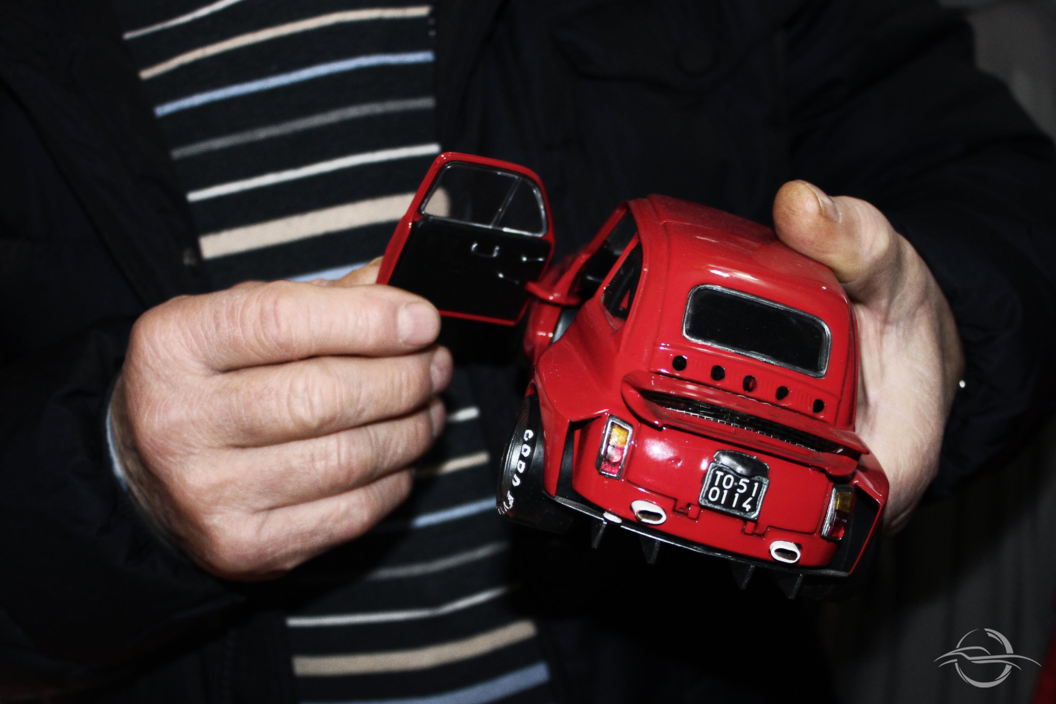 Automobilia modellino Fiat 500 collezione Morselli
