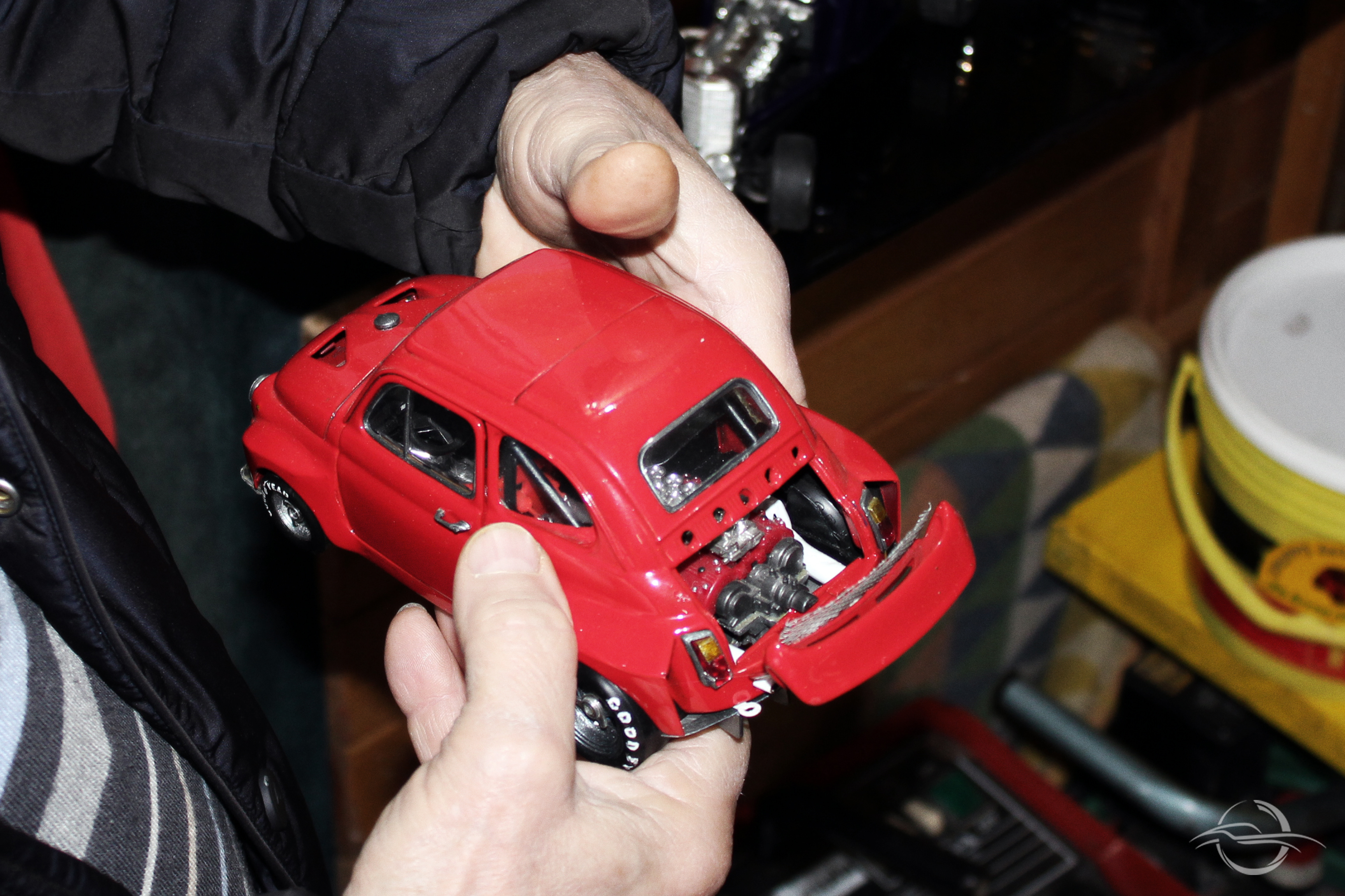 Automobilia modellino Fiat 500, collezione Morselli
