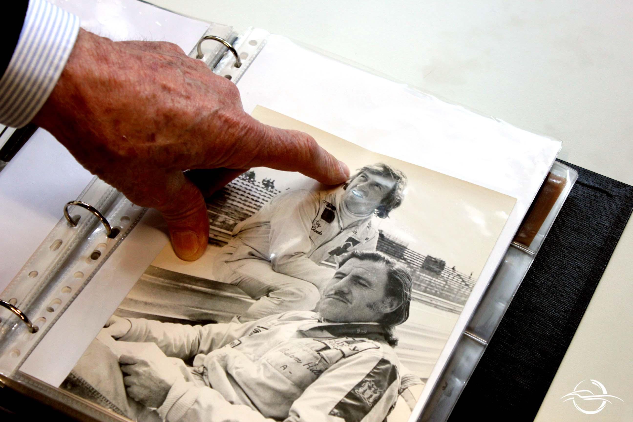 foto di Jochen Rindt e Graham Hill