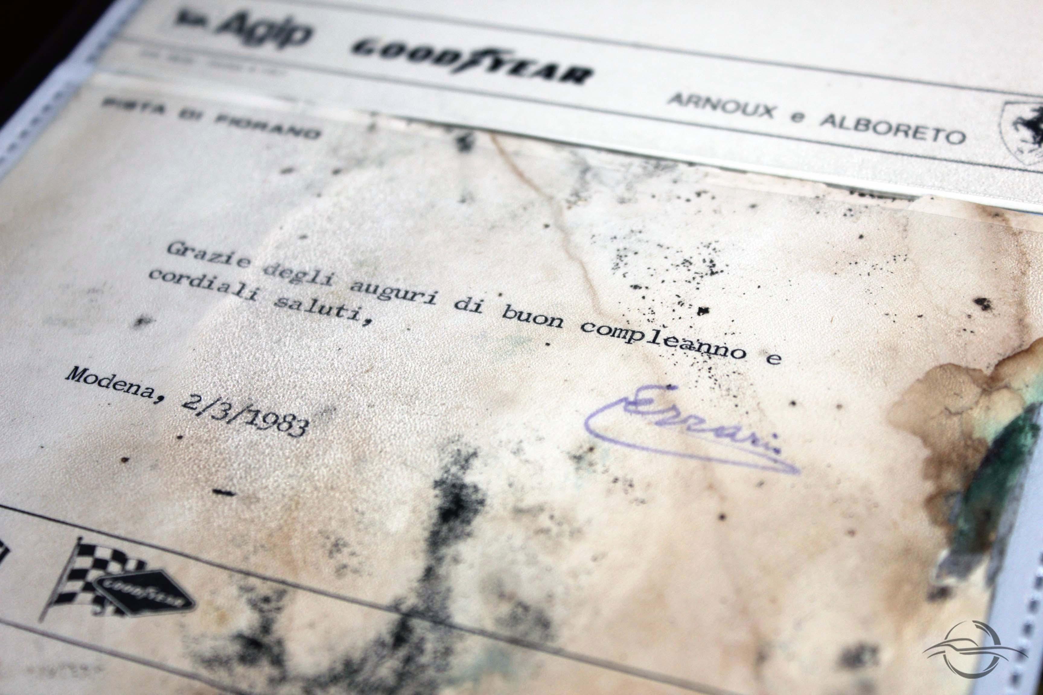 Lettere di Enzo Ferrari