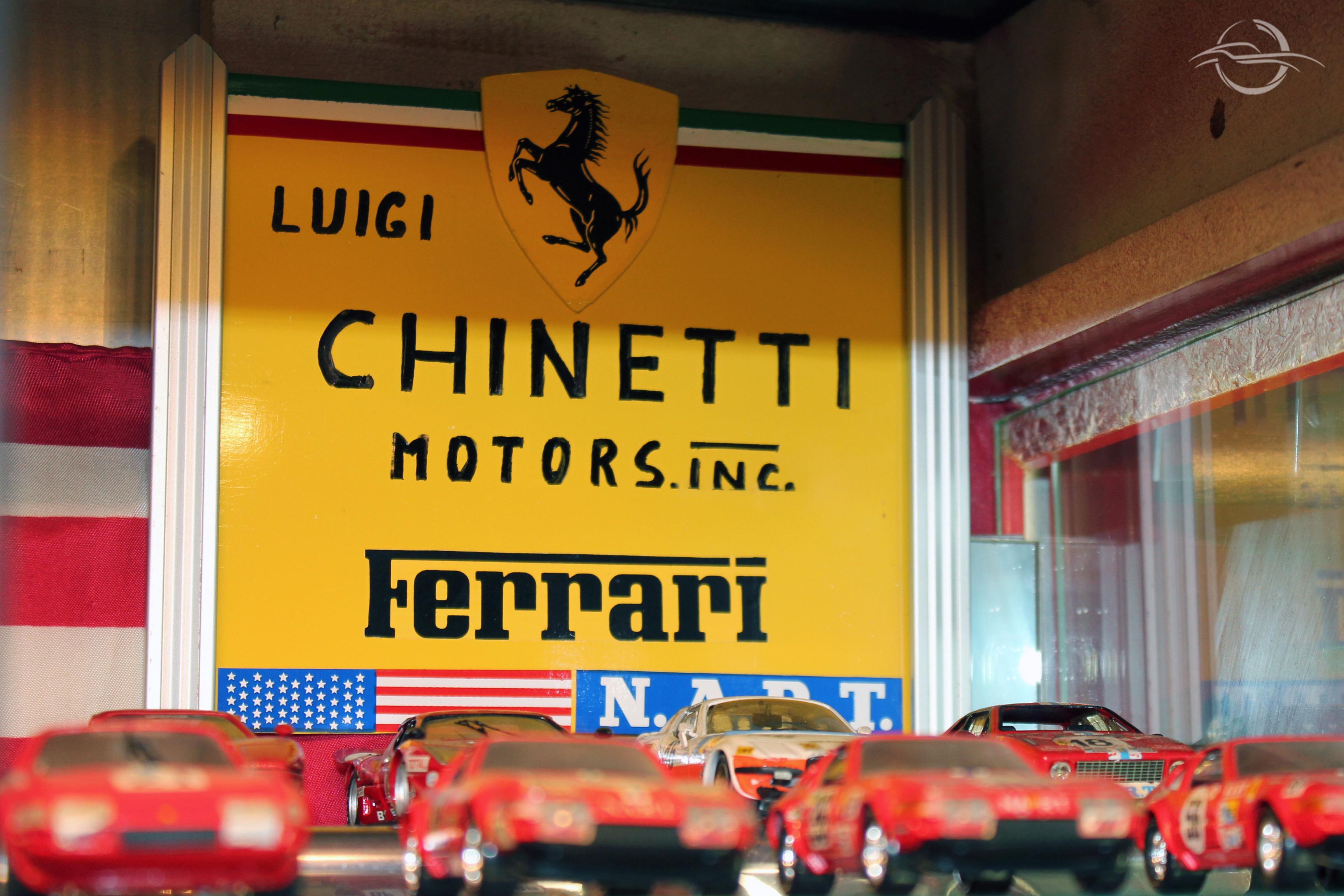 cartello Luigi Chinetti della collezione di Morselli