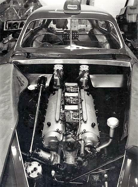 original photo of Ferrari 020I engine - Stephen Griswold