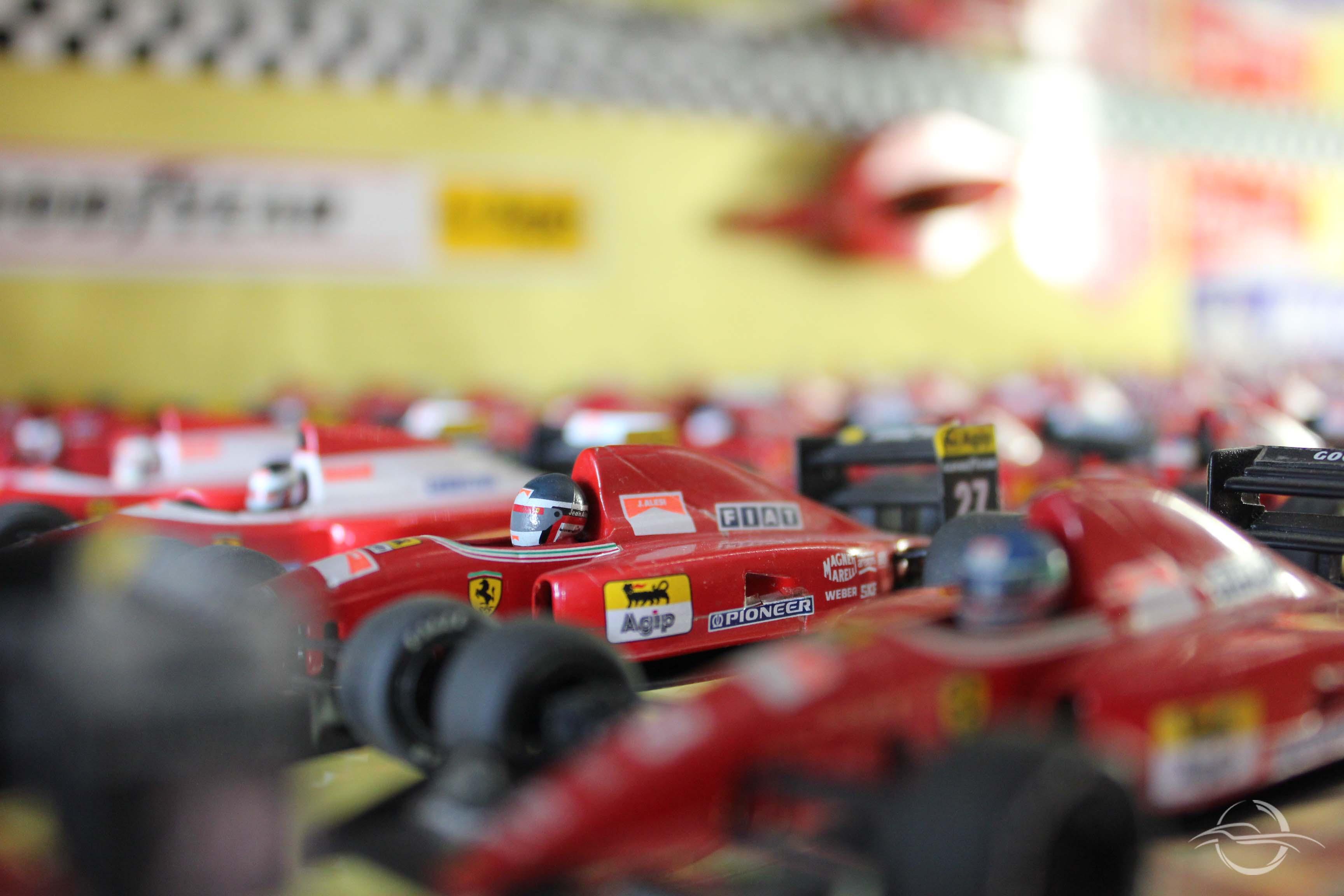 modellimo macchina Gilles Villeneuve dalla collezione di Morselli