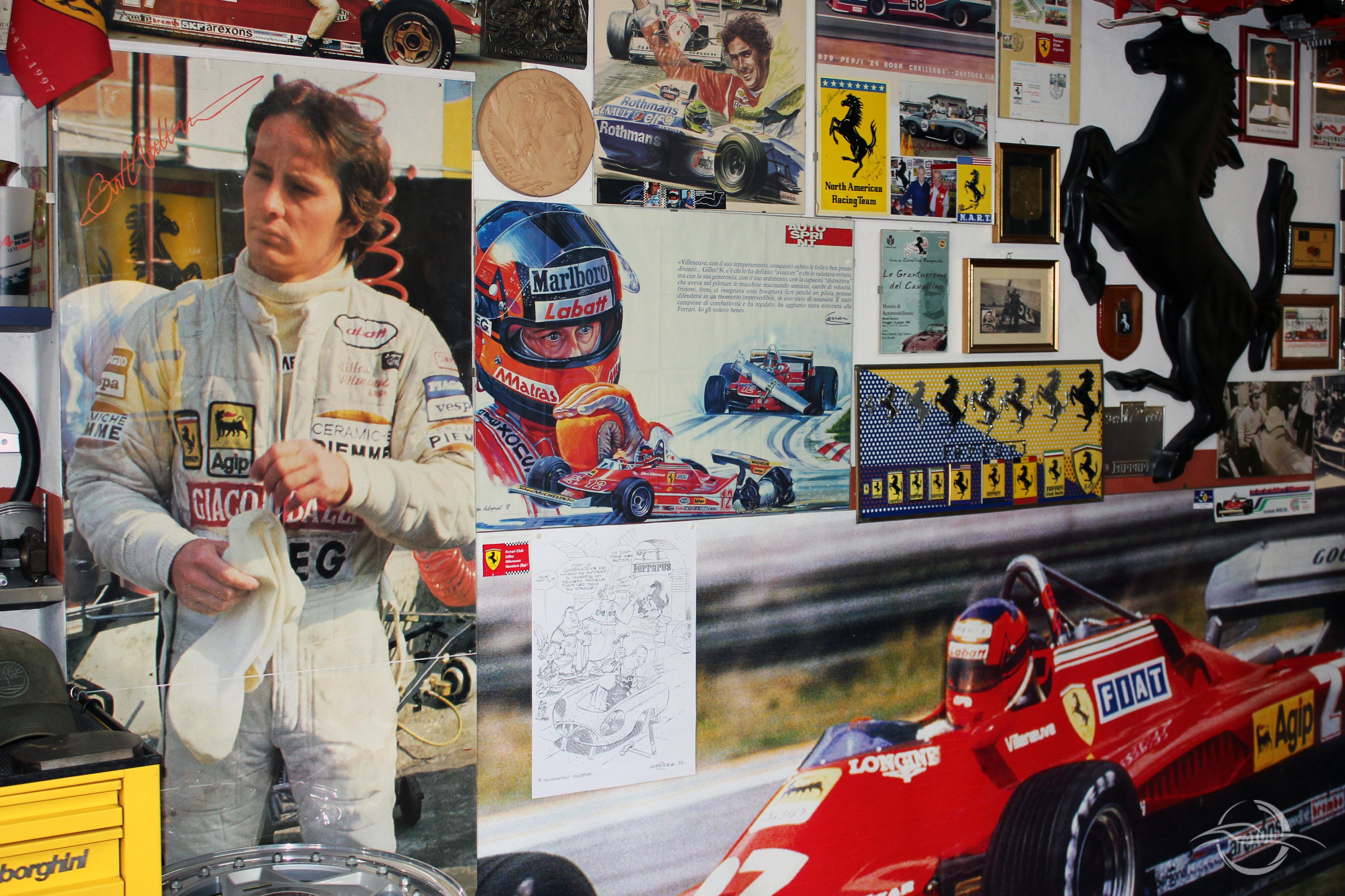 foto Gilles Villeneuve, collezione Morselli
