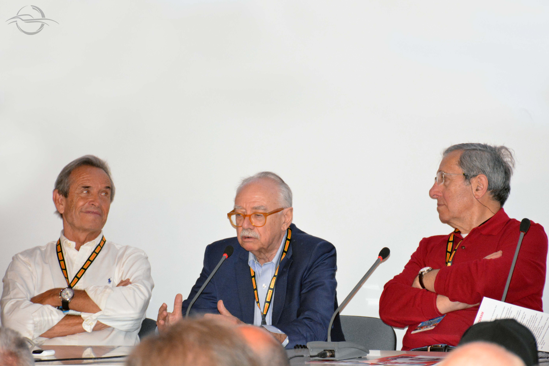 Mauro Forghieri e Jacky Ickx a Imola 2018