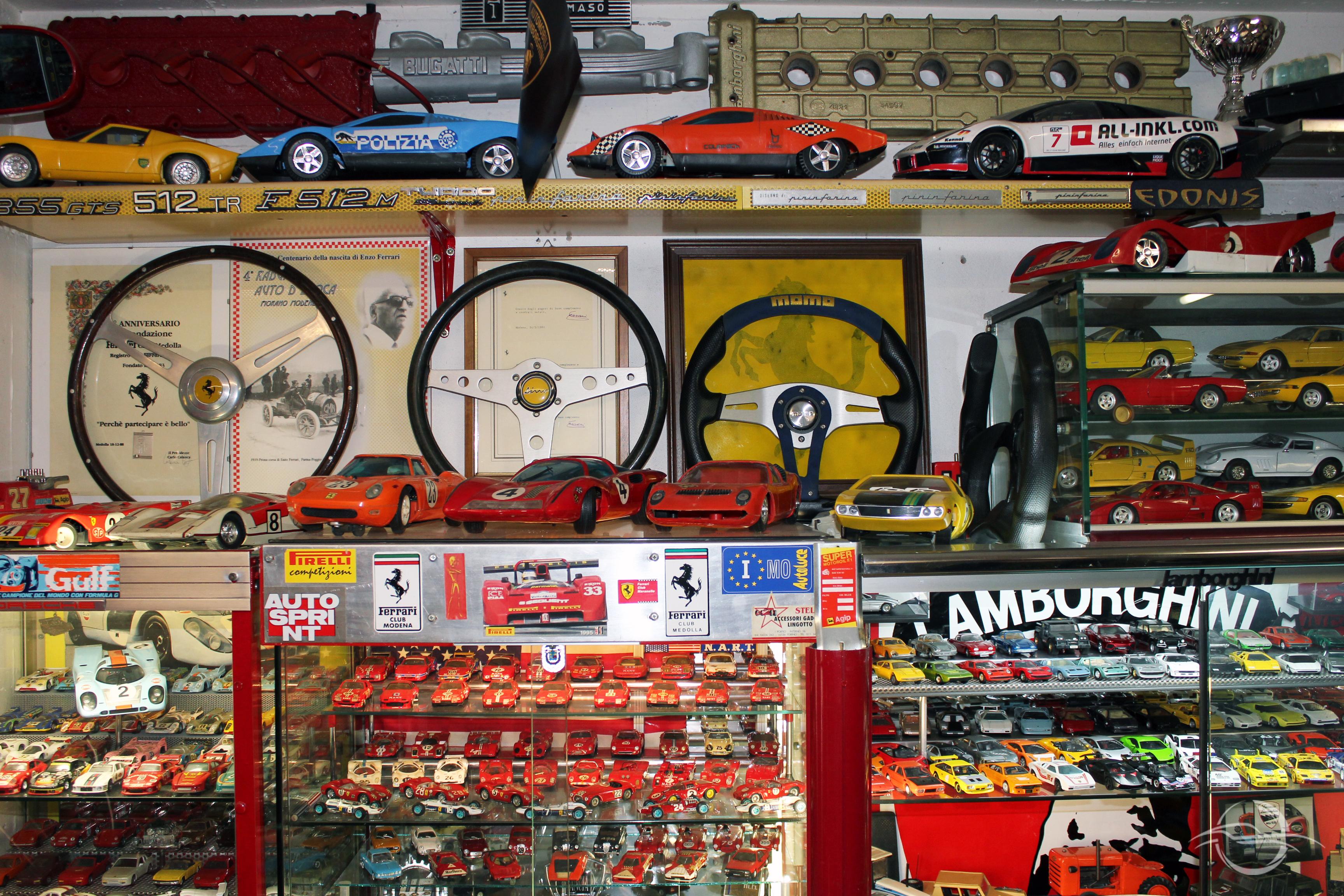 Collezione automobilia Morselli