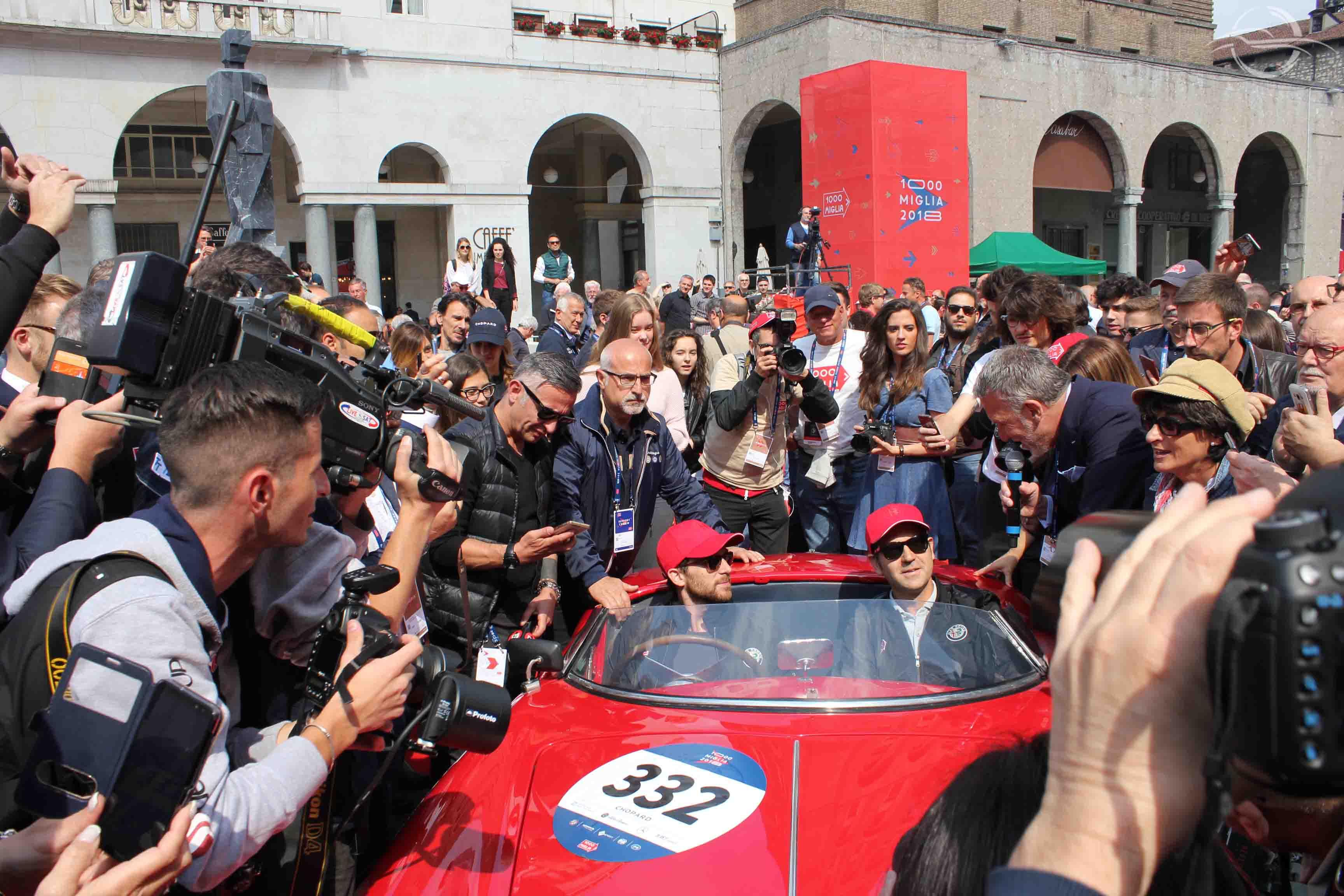 Alfa Romeo 1900 Sport, Derek Hill - Mille Miglia 2018