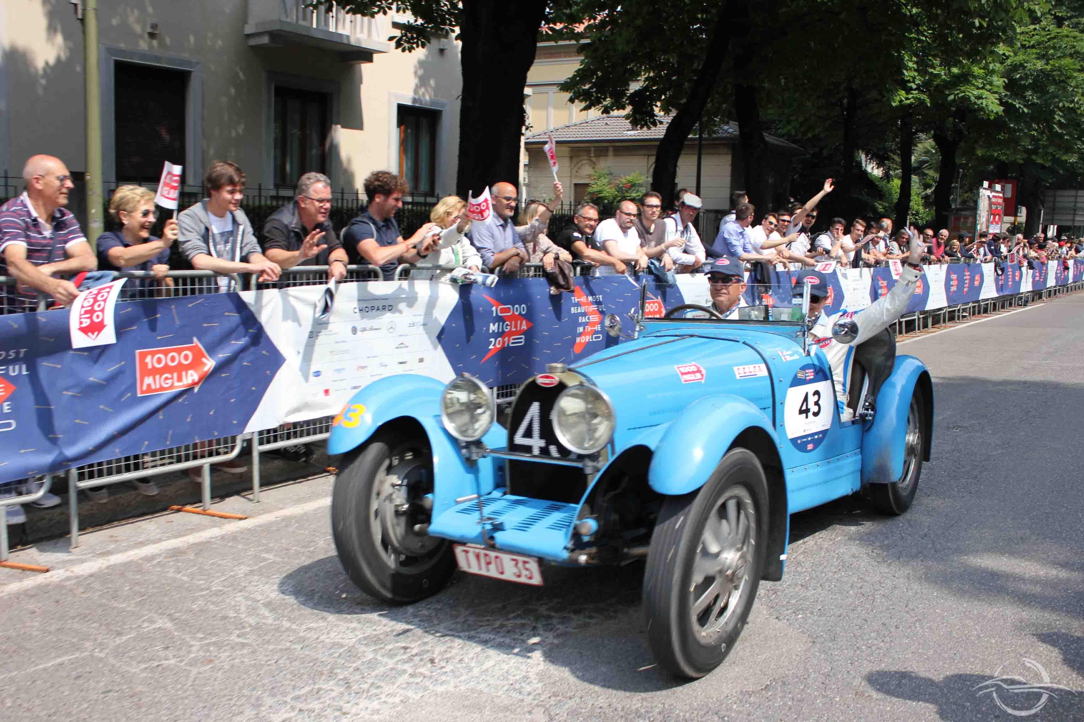 Bugatti Type 35B - Mille Miglia 2018