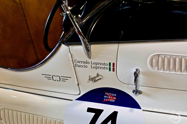 Alfa Romeo 6C Corrado Lopresto - Mille Miglia 2018