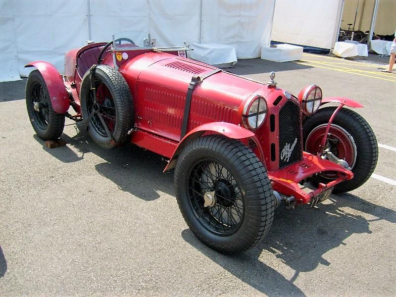 Alfa Romeo 8C Monza - Stephen Griswold
