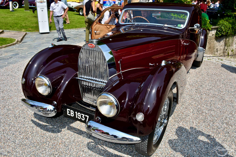 Bugatti 57 Atalante 1937 Albert Wetz