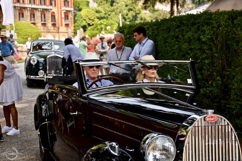 Bugatti 57 1938 Audrey & Martin Gruss