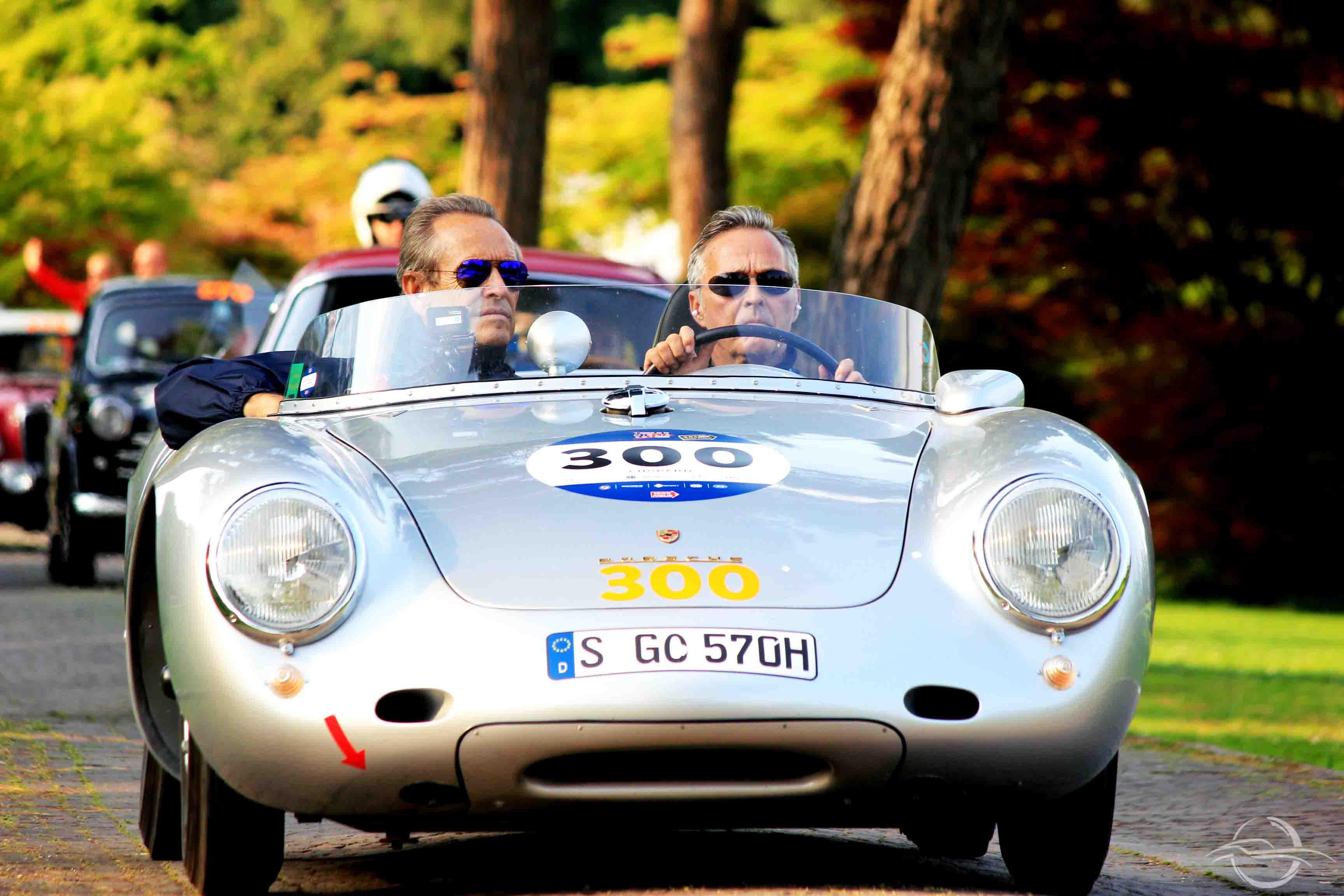 Jacky Ickx Porsche 550 Spider - Mille Miglia 2018