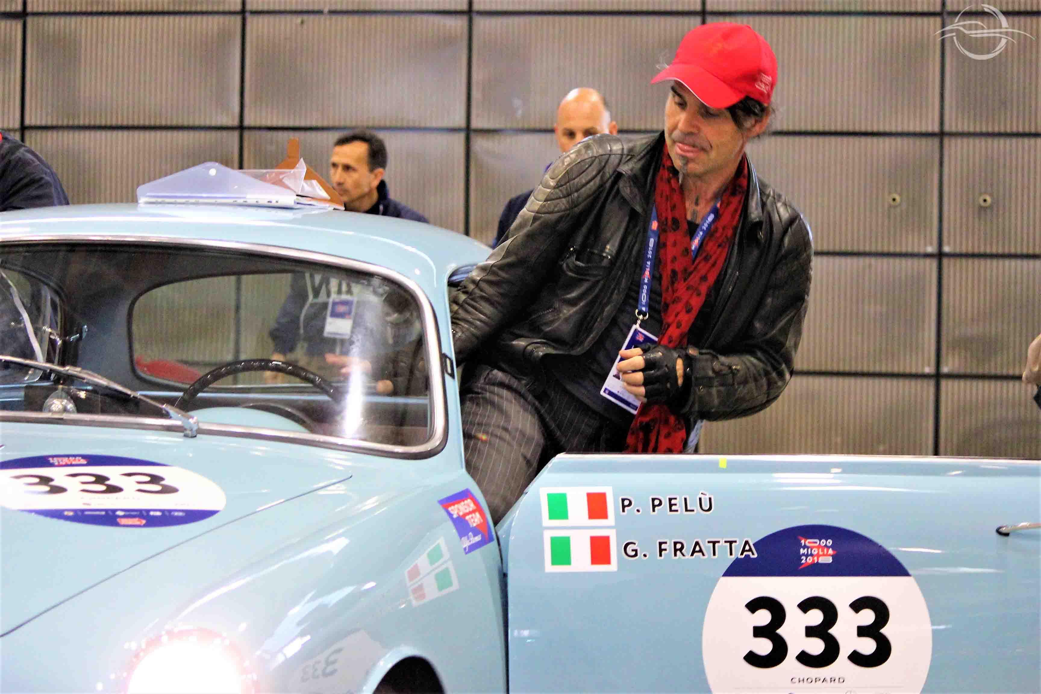 Piero Pelù Alfa Romeo Giulietta Sprint - Mille Miglia 2018
