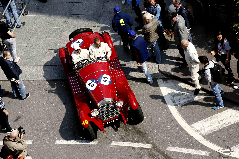 Alfa Romeo 6C R. Perletti - Mille Miglia 2018 by Angelo Rosa