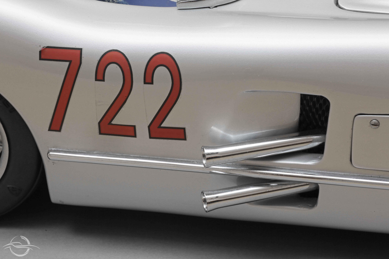 Mercedes 300 SLR #722 modellino di Mauro Bonaccini