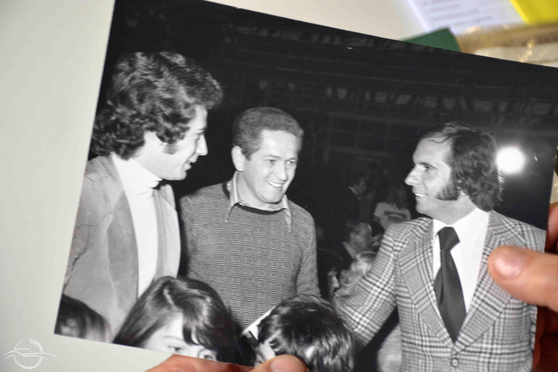 Johnny Alberto Cecotto, Sauro Mingarelli e Emerson Fittipaldi