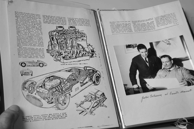 Ernesto Maserati and Cabianca