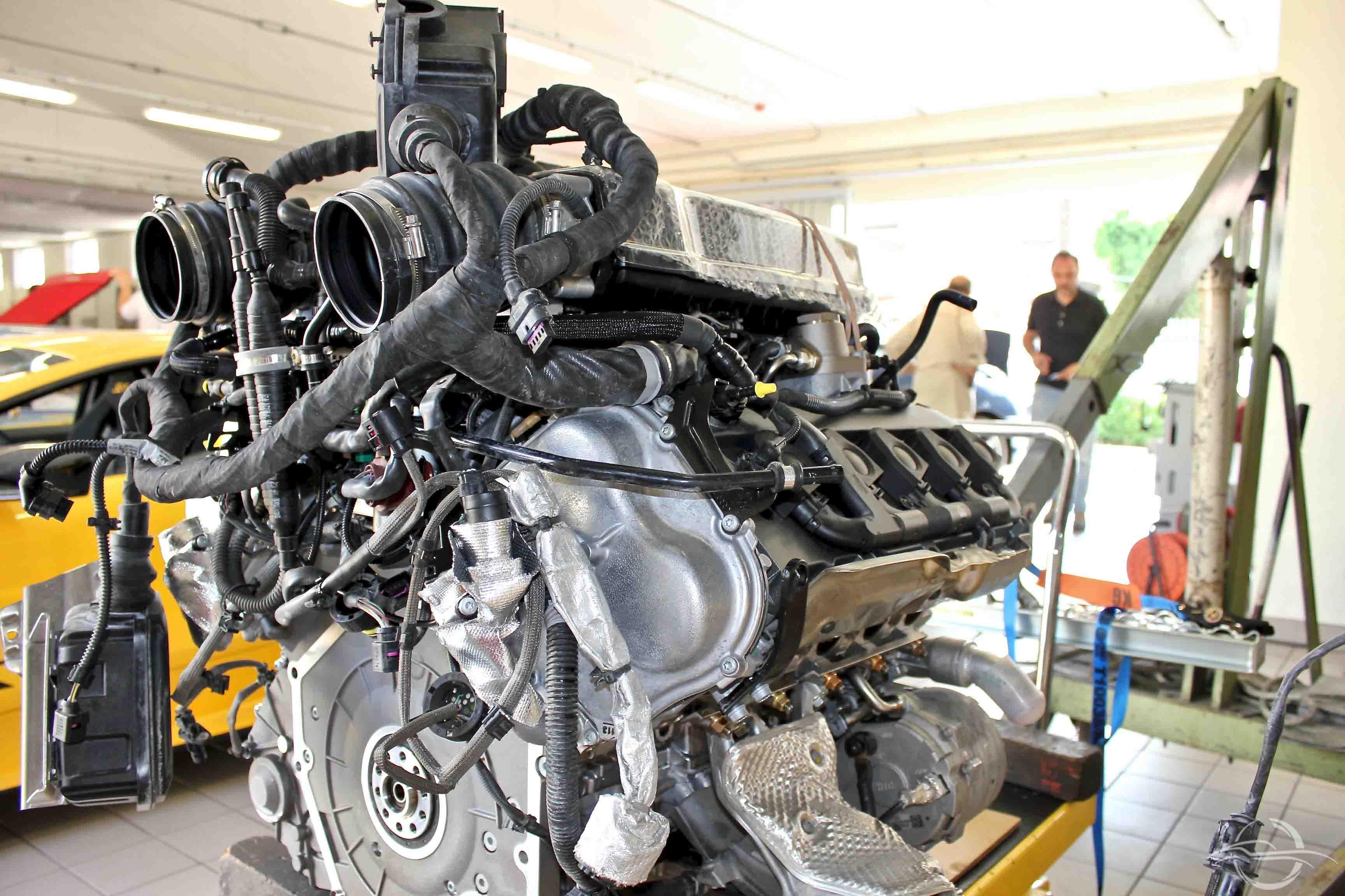 motore lamborghini