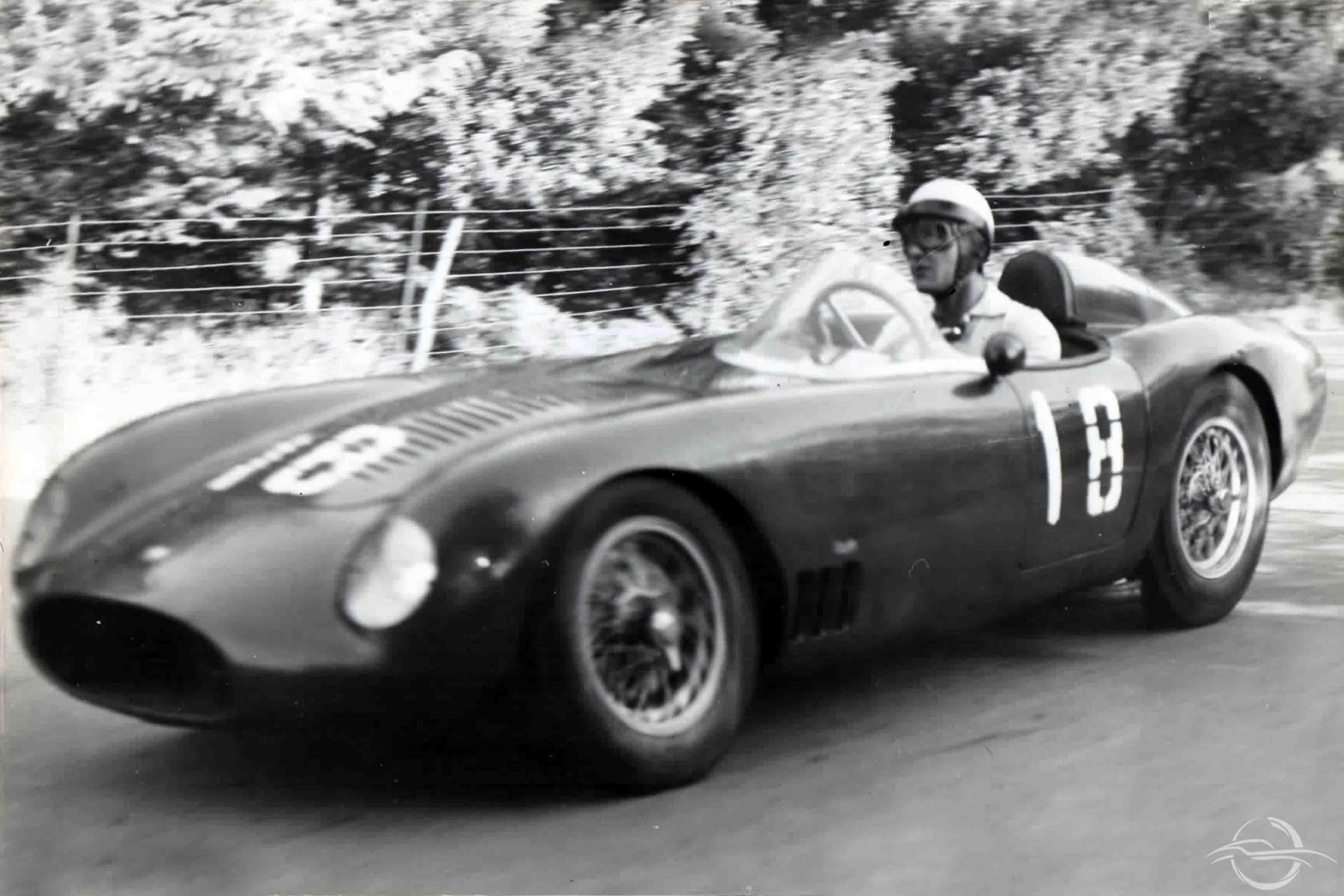 Osca 1500 Castellotti vincitore GP Shell Imola 1956