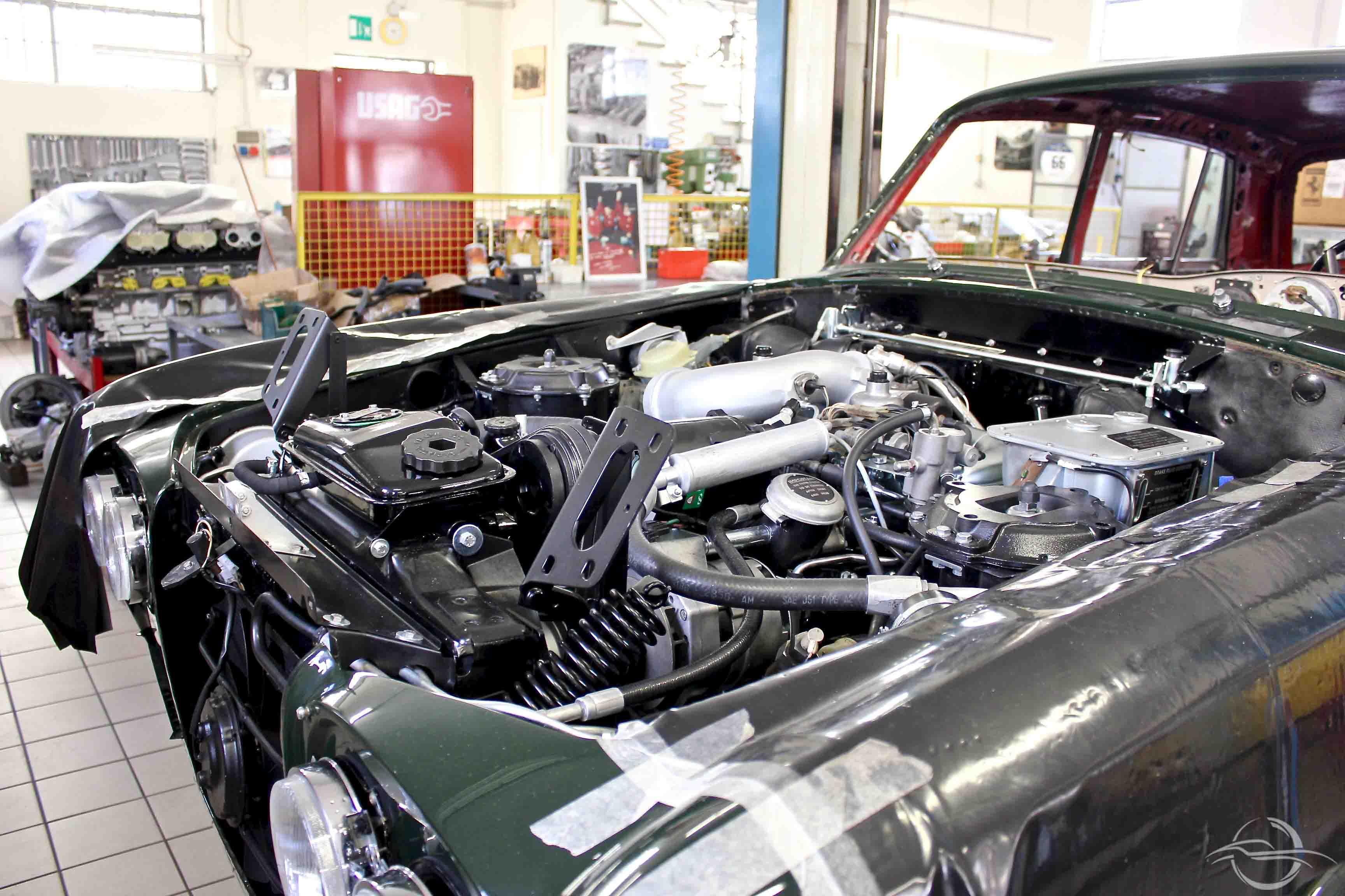 motore auto epoca