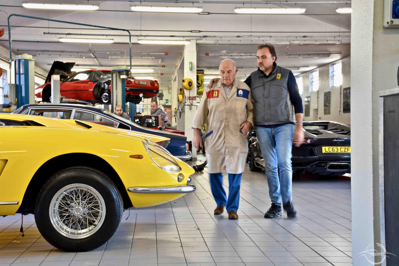 Luciano Rizzoli e il figlio Francesco