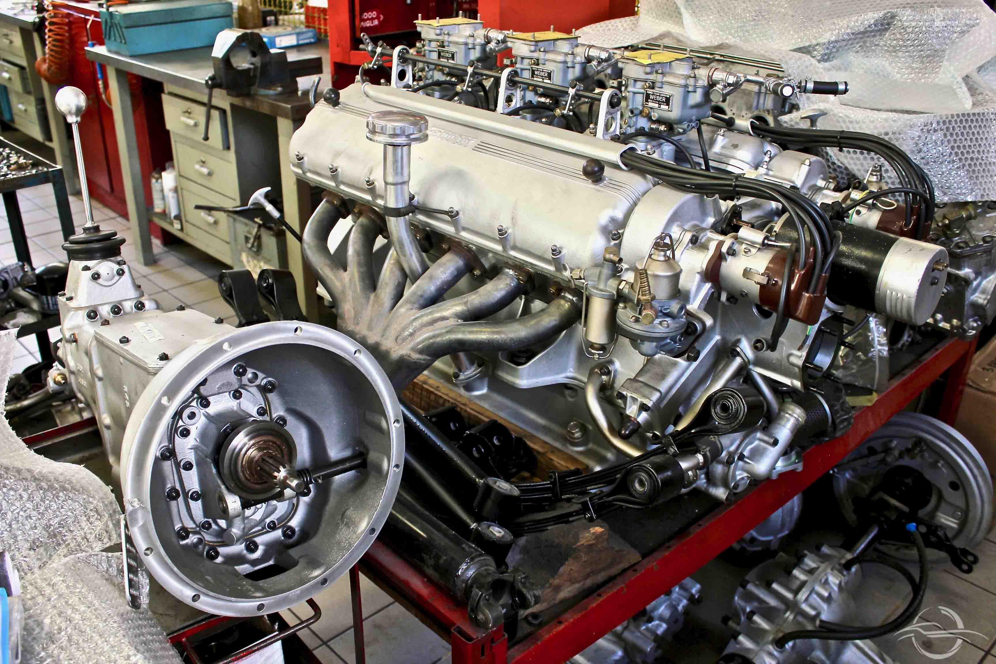 Motore Assemblato Ferrari 342 America