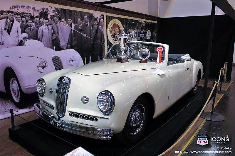 Lancia Aprilia Farina Cabriolet