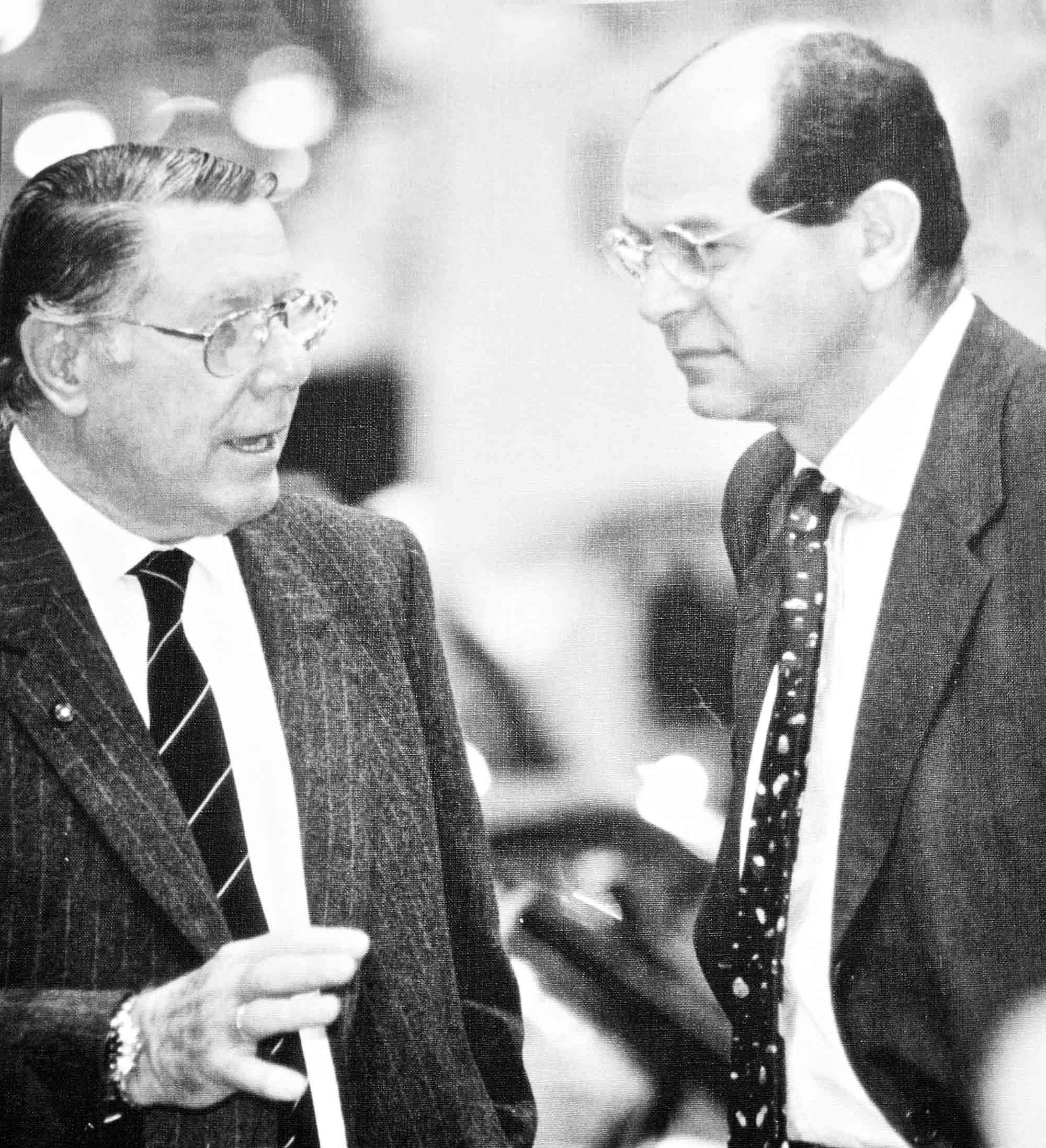 Sergio Pininfarina e Lorenzo Ramaciotti
