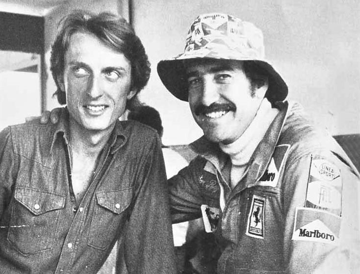 Luca Cordero di Montezemolo and Clay Regazzoni,