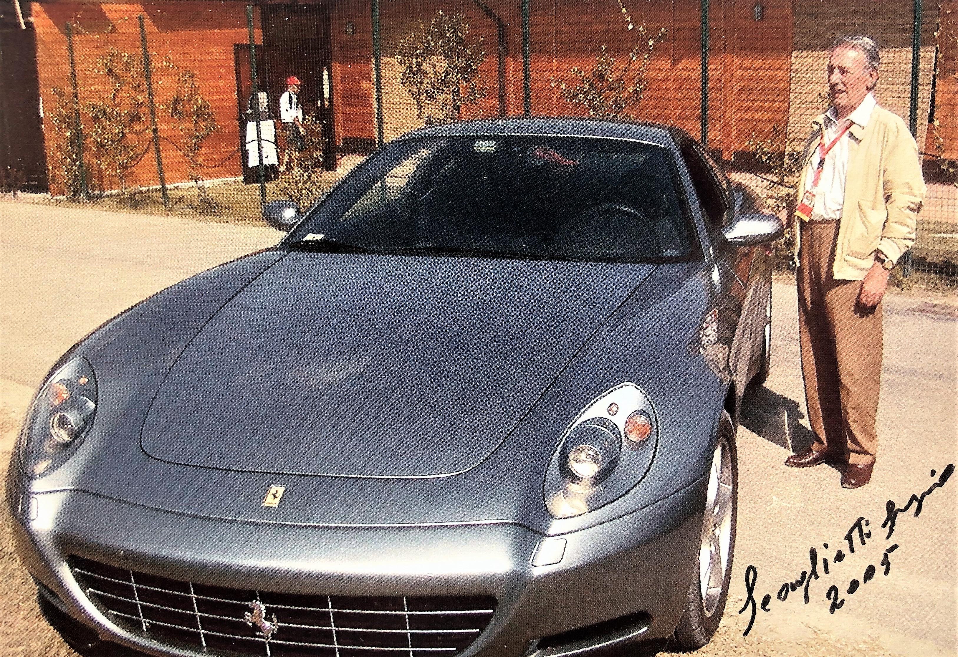 Sergio Scaglietti e la Ferrari 612