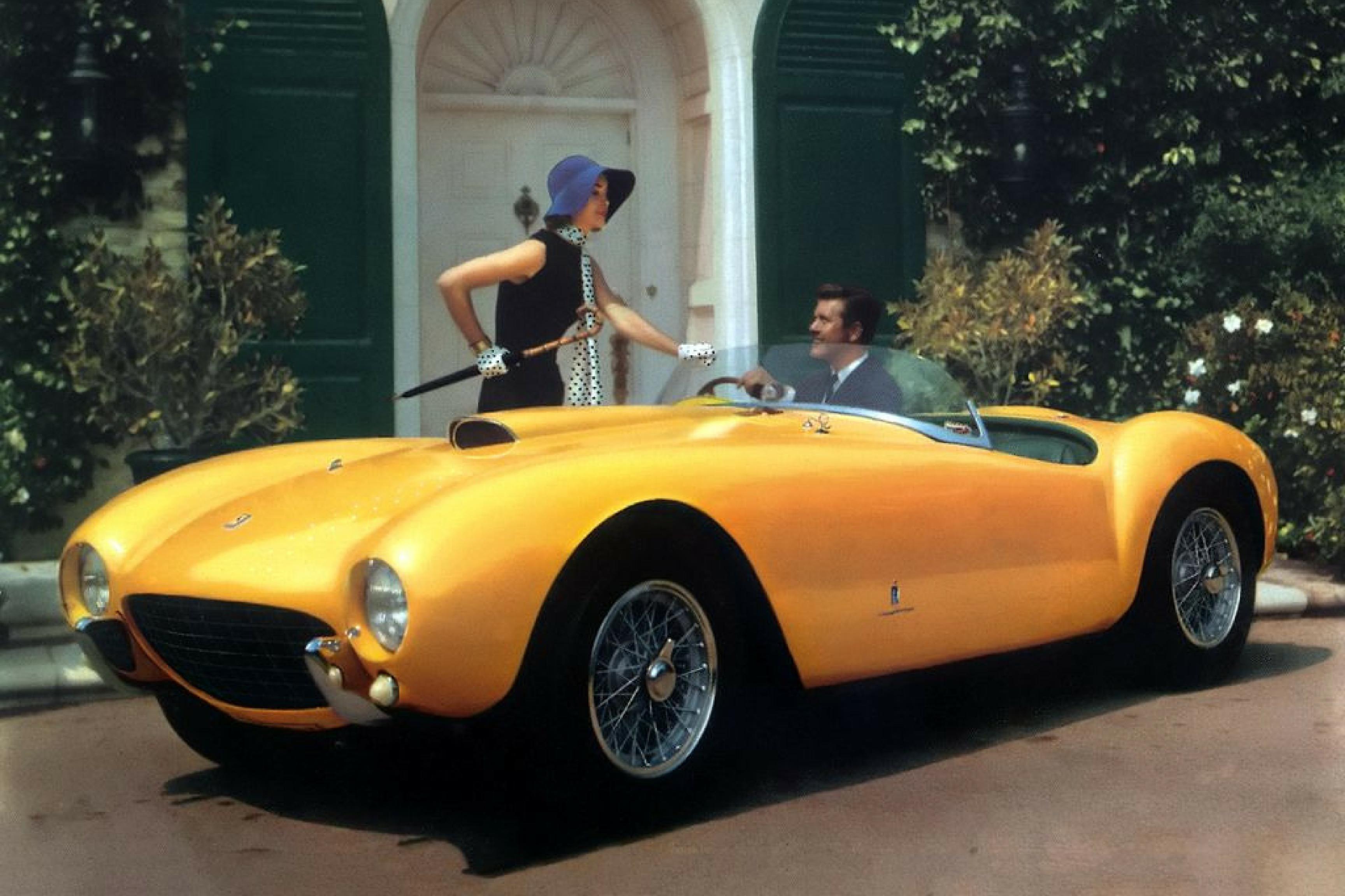 Ferrari 375 Mille Miglia gialla