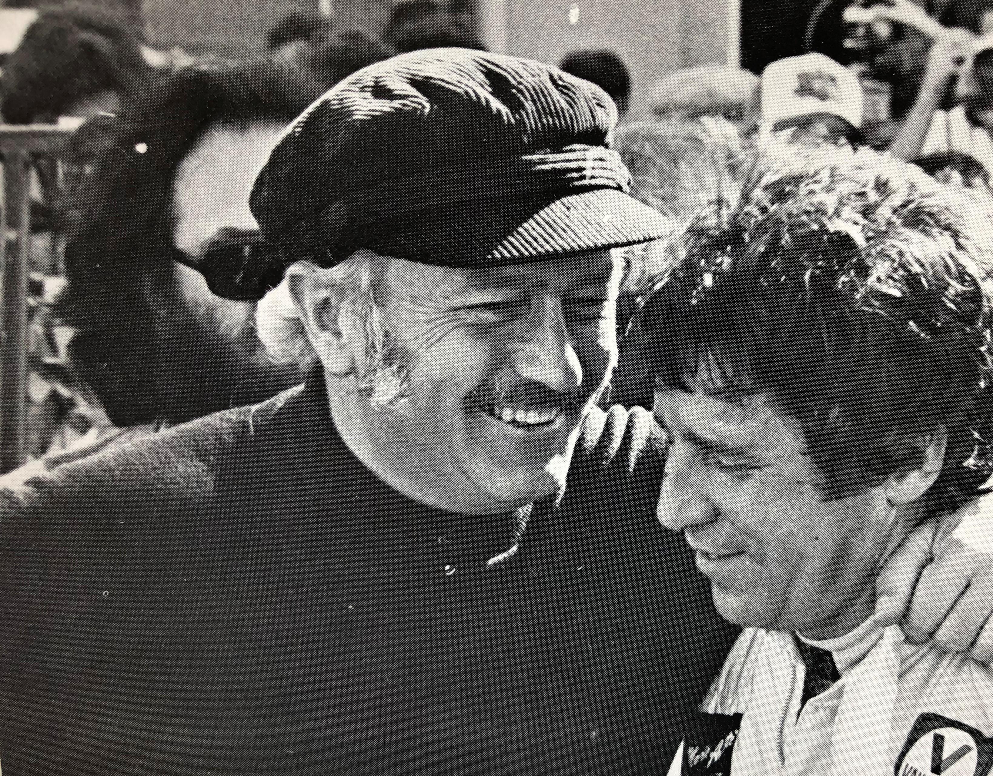 Colin Chapman e Mario Andretti