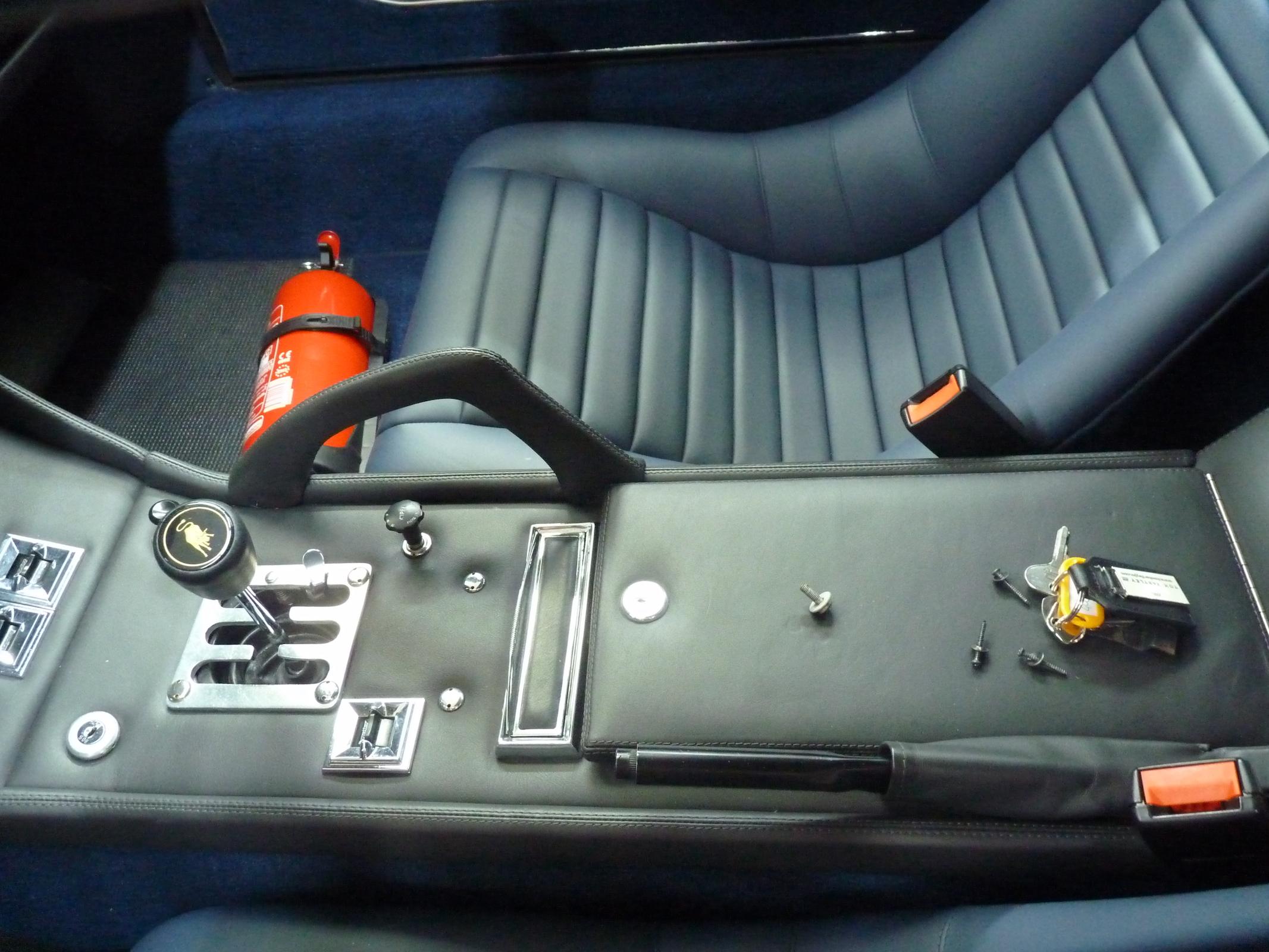 Lamborghini Miura S #4000- interni